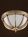 ZHISHU Retro Takmonterad Fluorescerande - Ministil, 110-120V 220-240V Glödlampa inte inkluderad