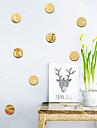 Forme Perete Postituri Acțibilduri de Oglindă Autocolante de Perete Decorative, Vinil Pagina de decorare de perete Decal Perete