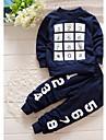 Băieți Set Îmbrăcăminte Imprimeu Bumbac Sport Primăvară Mânecă Lungă Casual Bleumarin
