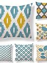 6 buc Textil Bumbac/In Față de pernă, Buline Dungi Geometric