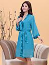 Pentru femei Costume Pijamale - Floral, Buline