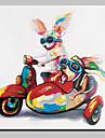 Hang-pictate pictură în ulei Pictat manual - Animale Animal Simplu Modern pânză
