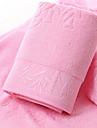 Färsk stil Badhandduk, Jacquard Överlägsen kvalitet Spandex Slät Handduk