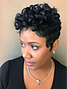 Human Hair Capless Wigs Human Hair Jerry Curl Afro Pixie Cut African American Wig Short Machine Made Wig