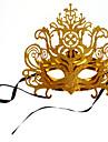Karnival Masquerade Mask Venetian Mask Brun Metall Cosplay-tillbehör Maskerad
