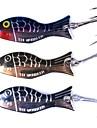 3 pcs خدع الصيد طعم صيد جامد طعم معدن معدن الغرق الصيد البحري الصيد العام الصنارة وقارب صيد