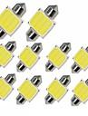 10pcs Ampoules electriques 1W COB 12 Lampe de Travail For Universel General Motors Toutes les Annees