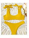 Pentru femei Bikini - Fără Spate, Culoare solidă Halter