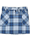 Women\'s Golf Skirt Plaid / Check Windproof Fast Dry Breathability Sports Golf Outdoor Exercise Sky Blue Light Blue Light Green Sports & Outdoor