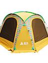 Sheng yuan 8 osob Stříška Outdoor Ochrana proti slunci Skládací S jednou vrstvou Camping Tent 1500-2000 mm pro Outdoor a turistika Rybaření Piknik Oxfordská látka 350*350*230 cm