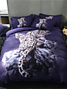 Duvet Cover Sets 3D Polyster Reactive Print 3 PieceBedding Sets / 300 / 3pcs (1 Duvet Cover, 2 Shams)