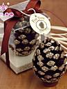 Temă Florală Favoruri lumânare - 1 Lumânări Cutie PVC