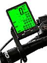 WEST BIKING® Cykeldator Vattentät Trådlös Smart Känslighet bakgrundsbelysning Noggrannhet LCD Auto On / Off SPD - Aktuell hastighet