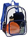 10L ryggsäck Camping Gym Skola Resor Regnsäker Transperant
