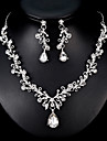 Pentru femei Set bijuterii - European, Modă Include Argintiu Pentru Nuntă / Zilnic