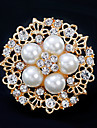 Pentru femei Broșe - Floare European, Modă Broșă Auriu / Argintiu Pentru Nuntă / Zilnic