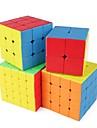 cubul lui Rubik 1 PCS Shengshou D0934 Curcubeu Cube 5*5*5 / 4*4*4 / 3*3*3 Cub Viteză lină Cuburi Magice puzzle cub Sticker transparent