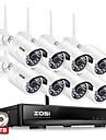 zosi® 8ch 1080p wireless cctv sistem 2tb hdd 2mp puternic ip ip ir-tăiat camera cctv ip kituri de supraveghere sistem de securitate