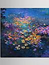 Hang målad oljemålning HANDMÅLAD - Landskap Moderna Duk