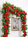 Kunstbloemen 1 Tak Feest / Avond Bruiloft Rozen Bloemen voor op de muur