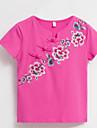 Pentru femei Tricou De Bază - Floral