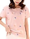 Pentru femei Tricou Șic Stradă-Geometric