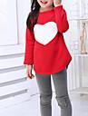 Fete Set Îmbrăcăminte Bumbac Primăvară Vară Toamnă Manșon Lung Rosu Roz