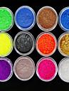 12st nagel konst Nail Art Tool Nagelklippare Nät Nail Art Kits & Tillbehör Nail Art DIY Tool Accessory omvandlings Genomskinligt