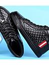 Bărbați Pantofi Piele Iarnă Confortabili Adidași Negru