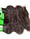Indiskt hår / Kroppsvågor Kroppsvågor Obehandlad hår / Remy-hår Weave Hårförlängning av äkta hår Heta Försäljning / Till färgade kvinnor