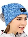 VEPEAL Chapeau Hiver Garder au chaud / Extensible Randonnee / Voyage / Sports d\'hiver Femme Acrylique Couleur Pleine