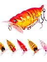 6 pcs leurres de peche Poissons nageur / Leurre dur Plastique Exterieur Affaisse Peche d\'appat Peche au leurre Peche generale