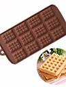 Instrumente de coacere Silicon Bucătărie Gadget creativ / Reparații Biscuiți / Ciocolatiu / pentru Sandwich Materiale pentru torturi 1 buc