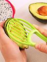 Ustensile de bucătărie Plastic Ustensile pentru Fructe & Legume Multifuncțional Dispozitiv de decojit / Slicer pentru Fructe 1 buc