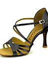 סנדלי נעלי המעוור עליון הריקוד לטיני נשים מותאמות אישית של עם Buckie