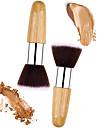 Professional Makeup Buersten Puderpinsel 2pcs Umweltfreundlich Professionell Kuenstliches Haar Hoelzern / Metall zum