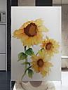 Fereastră de film și autocolante Decor Floral Floral PVC Autocolant Geam