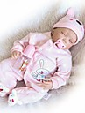 NPKCOLLECTION NPK DOLL בובה מחדש בובת נערה תינוקות בנות 24 אִינְטשׁ סיליקון - יָלוּד כְּמוֹ בַּחַיִים מתנה בטוח לשימוש ילדים Non Toxic ציפורניים אטומות וחותמות הילד של בנות צעצועים מתנות