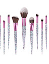 Professionel Make-up pensler Kosmetik 10-Pack Professionel comfy Træ / Bambus til