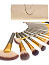 18pcs Make-up pensler Professionel Brush Sets -ko Venlig / Blød Træ / Bambus