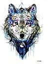 3 pcs Временные татуировки Тату с тотемом / Тату с животными Гладкий стикер / Безопасность Искусство тела рука / плечо / Временные татуировки в стиле деколь