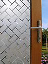 Fereastră de film și autocolante Decor mată / Contemporan Geometric PVC Autocolant Geam / Mat