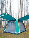TANXIANZHE® -8 אנשים אוהל עם הצללה אוהל בית עם הצללה חיצוני עמיד עמידות UV מוגן מגשם שכבה כפולה אוטומטי קמפינג אוהל 2000-3000 mm ל מחנאות / צעידות / טיולי מערות פיקניק בד אוקספורד 285*235*200 cm