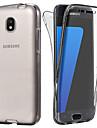Capinha Para Samsung Galaxy J7 (2017) / J5 (2017) Transparente Capa Protecao Completa Solido Macia TPU para J7 (2017) / J6 / J5 (2017)