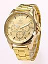 Ανδρικά Ρολόι Φορέματος Ρολόι Καρπού Χαλαζίας Χρυσό Νεό Σχέδιο Καθημερινό Ρολόι Αναλογικό Κλασσικό Καθημερινό Μοντέρνα - Χρυσό Μαύρο Ενας χρόνος Διάρκεια Ζωής Μπαταρίας