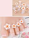 8pcs Silicon Unelte DIY Tools Pentru deget de la picior Design Modern Romantic nail art pedichiura si manichiura Floare Purtare Zilnică