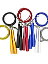 Jump Rope Aluminum Plastic Shell Wire Adjustable Durable Crossfit Weight Loss Training Exercise & Fitness Bodybuilding Boxing Training For Men Women Home