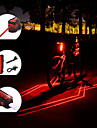 Rear Bike Tail Light Tail Light Laser LED Bike Light Mountain Bike MTB Cycling Waterproof Portable Adjustable 150 lm Rechargeable Battery Red Camping / Hiking / Caving