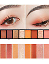 10 Farben Lidschatten / Puder Auge Alltag Make-up / Halloween Make-up / Party Make-up Bilden Kosmetikum / Matt / Schimmer