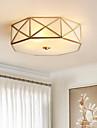 Geometrisch Op plafond bevestigd Sfeerverlichting Messing Metaal Glas Nieuw Design 110-120V / 220-240V LampNiet Inbegrepen / E26 / E27